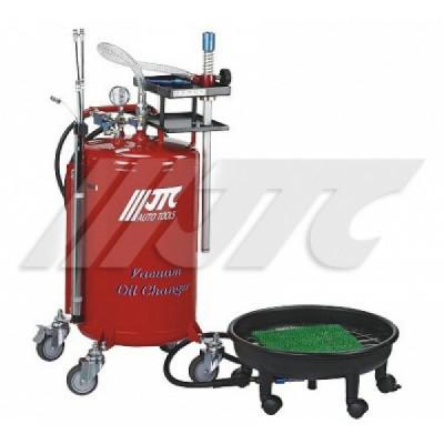 Установка для замены масла 80л, поддон 16л (комбинированная) JTC